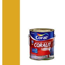 Esmalte-Sintetico-Brilhante-Coralit-Amarelo-Trator-36L---Coral