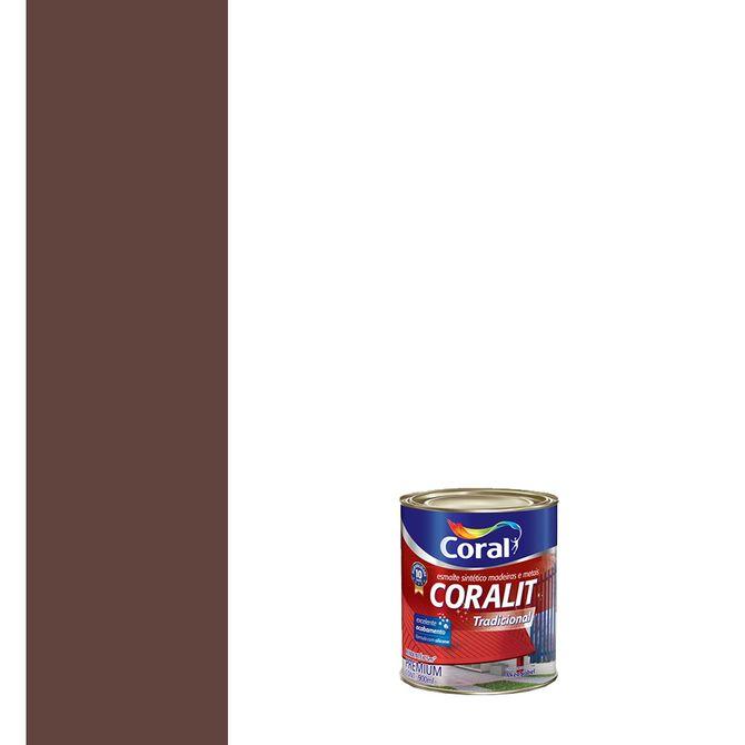Esmalte-Sintetico-Brilhante-Coralit-Marrom-900ml---Coral