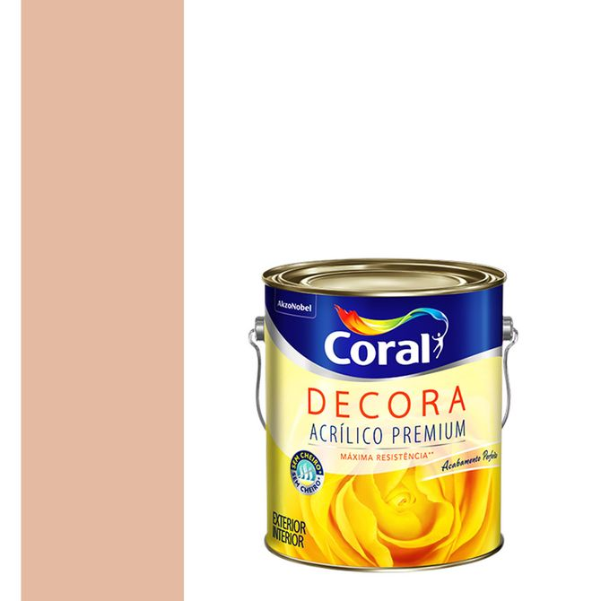 Tinta-Acrilica-Premium-Fosca-Decora-Pessego-36L---Coral