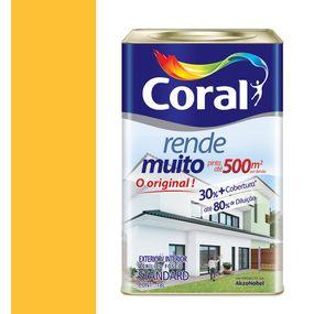 Tinta-Acrilica-Fosco-Rende-Muito-Amarelo-Frevo-18L---Coral