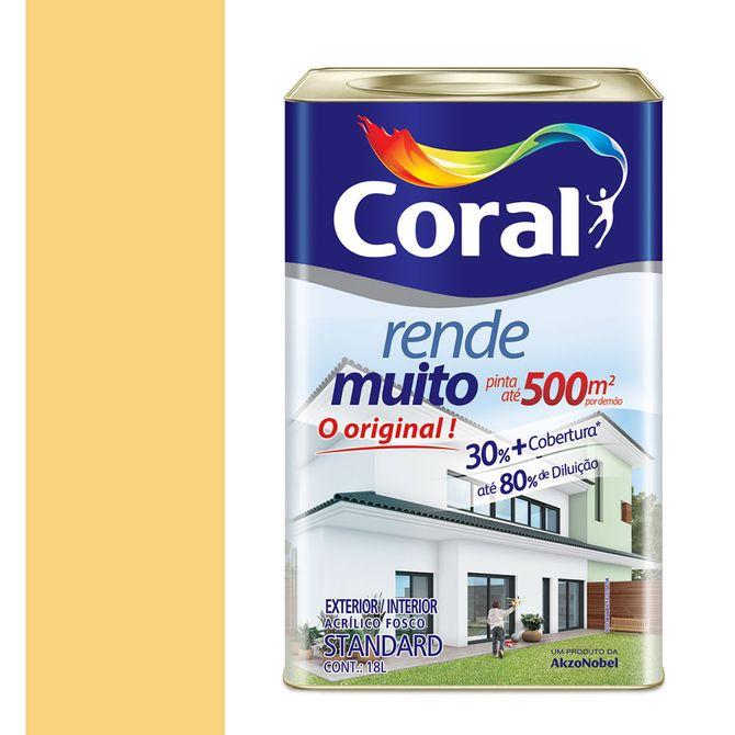Tinta-Acrilica-Fosco-Rende-Muito-Amarelo-Canario-18L---Coral