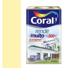 Tinta-Acrilica-Fosco-Rende-Muito-Amarelo-Vanilla-18L---Coral