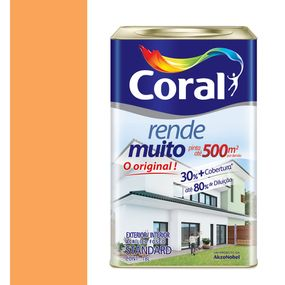 Tinta-Acrilica-Fosco-Rende-Muito-Laranja-Citrico-18L---Coral