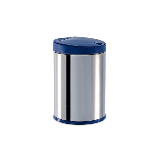 Lixeira-Inox-Press-com-Tampa-Azul-4L-3050-262---Brinox