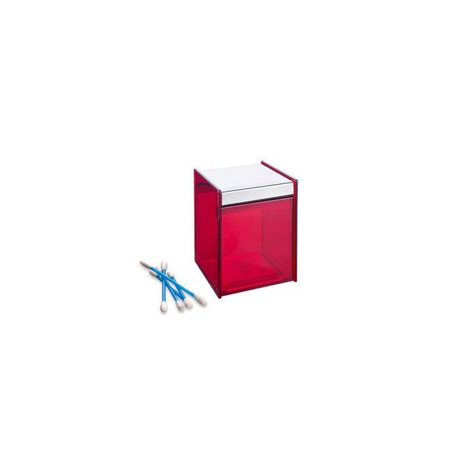 Porta-Cotonetes-Quadrata-Vermelho-1984-009---Brinox