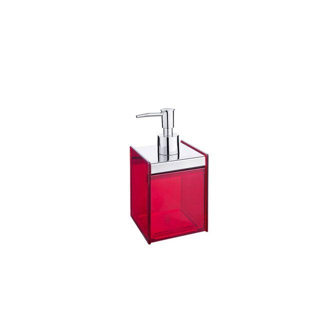Porta-Sabao-Liquido-Quadrata-Vermelho-1983-009---Brinox