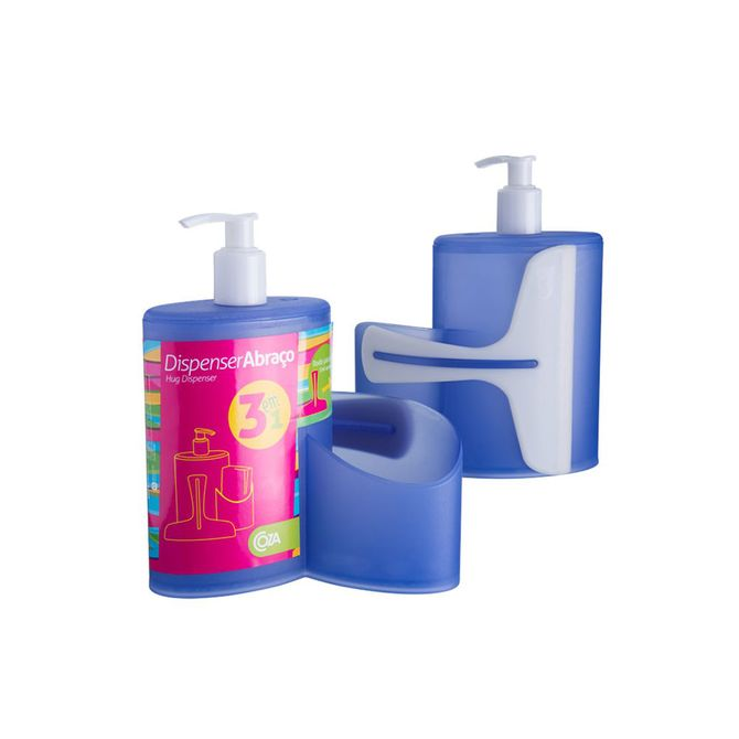 Dispenser-Abraco-Azul-600ml-10864-0461---Coza