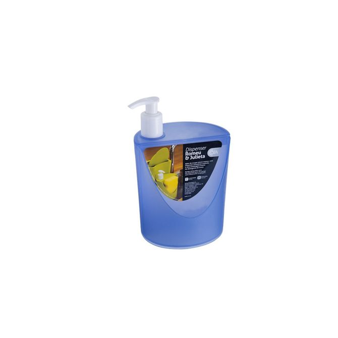 Dispenser-Romeu---Julieta-Azul-600ml-10837-0461---Coza