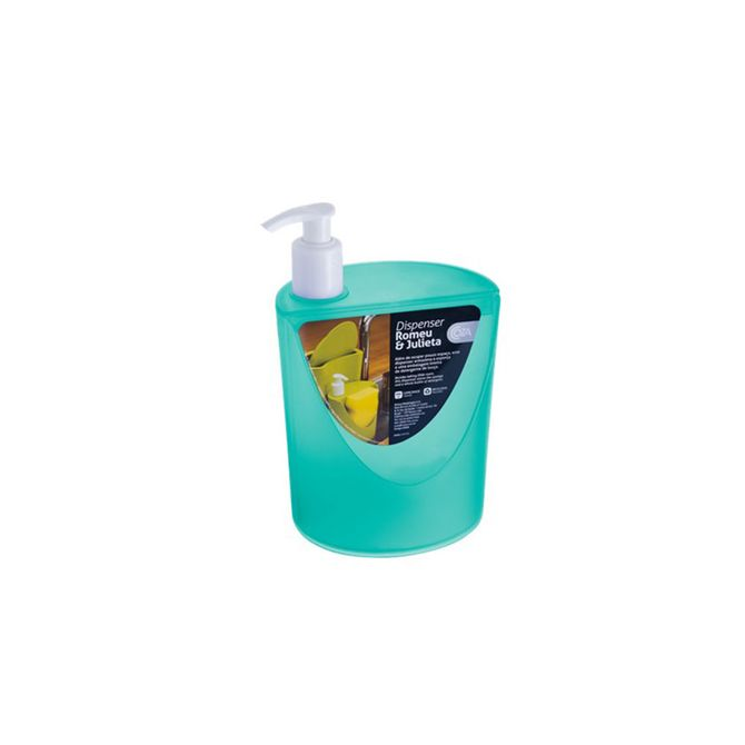 Dispenser-Romeu---Julieta-Verde-600ml-10837-0129---Coza