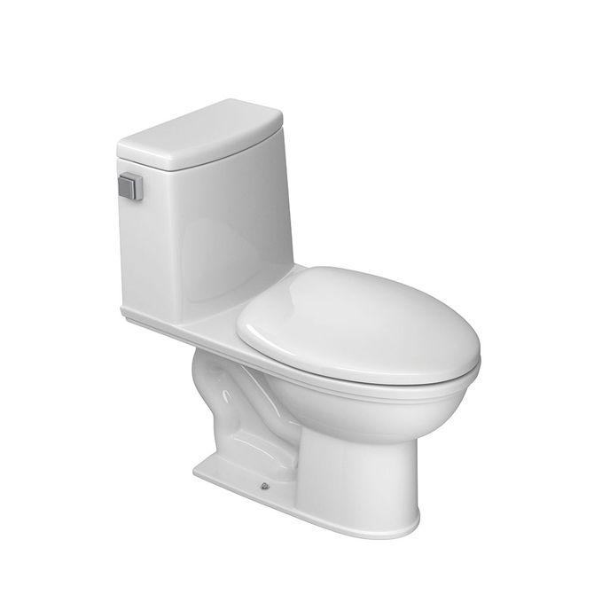 Bacia-Sanitaria-com-Caixa-Acoplada-e-Assento-Plastico-Slow-Close-One-Piece-Branca-P143---Deca
