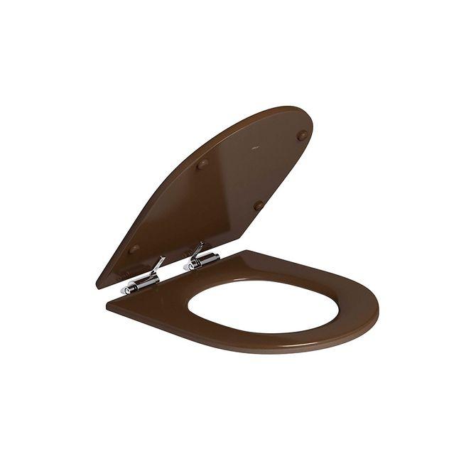 Assento-Poliester-Marrom-Fosco-com-Slow-Close-para-os-modelos-Carrara-Nuova-Link-e-Duna-AP237---Deca1