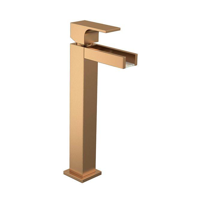 Misturador-Monocomando-para-Banheiro-Mesa-Unic-Cascata-Gold-Matte-2885.GL90.CAS.MT---Deca