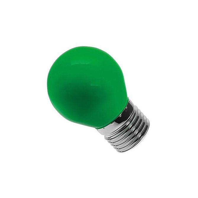 Lampada-Bolinha-G45-Verde-Bivolt-6w---LM280---Luminatti