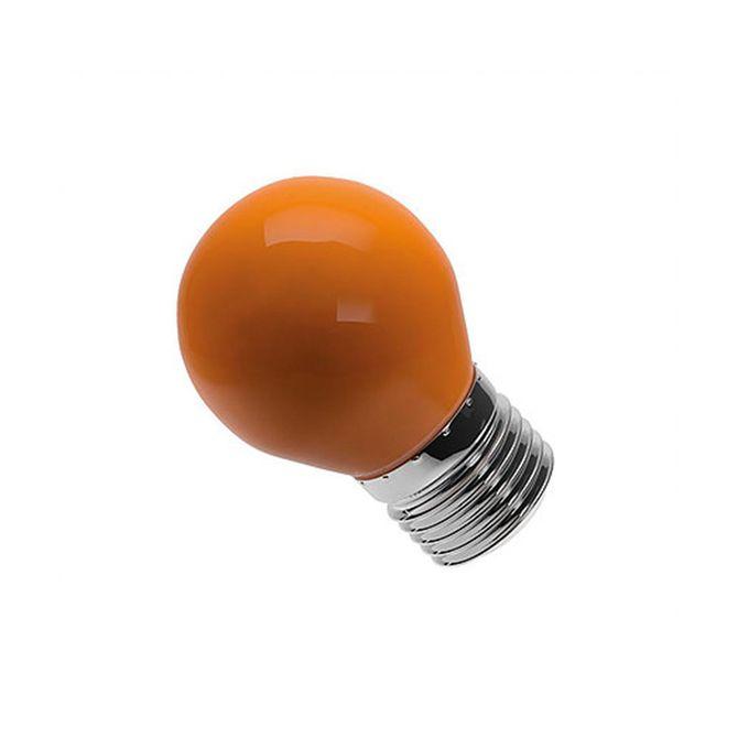 Lampada-Bolinha-G45-Laranja-Bivolt-6w---LM282---Luminatti