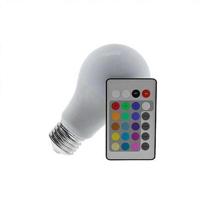 Lampada-Bulbo-RGB-Branca-Bivolt-35w-com-Controle---LM340---Luminatti