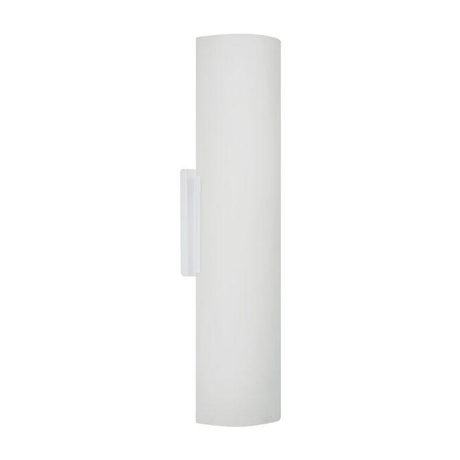 Arandela-Embau-40cm-Vidro-Fosco-2xE27-Branca---Taschibra