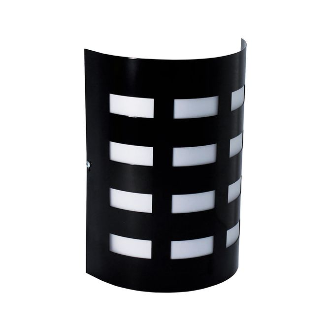 Arandela-TD42-Aluminio-1xE27-Preto---Taschibra