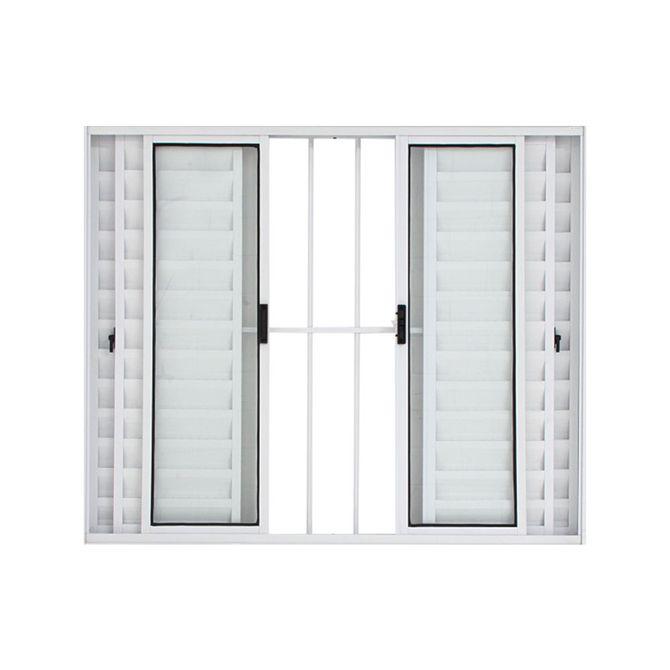 Janela-Veneziana-de-Correr-de-Aluminio-6-Folhas-com-Grade-100x120-Branca---30012---Esquadriart