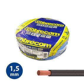 Cabo-Flexivel-15mm-Preto---Rolo-100m---Cobrecom