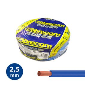 Cabo-Flexivel-25mm-Azul---Rolo-100m---Cobrecom