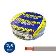 Cabo-Flexivel-25mm-Cinza---Rolo-100m---Cobrecom