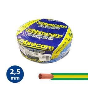 Cabo-Flexivel-25mm-Verde-e-Amarelo---Rolo-100m---Cobrecom