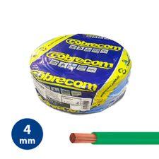 Cabo-Flexivel-4mm-Verde---Rolo-100m---Cobrecom