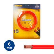 Cabo-Flexivel-6mm-Vermelho---Rolo-15m---Cobrecom