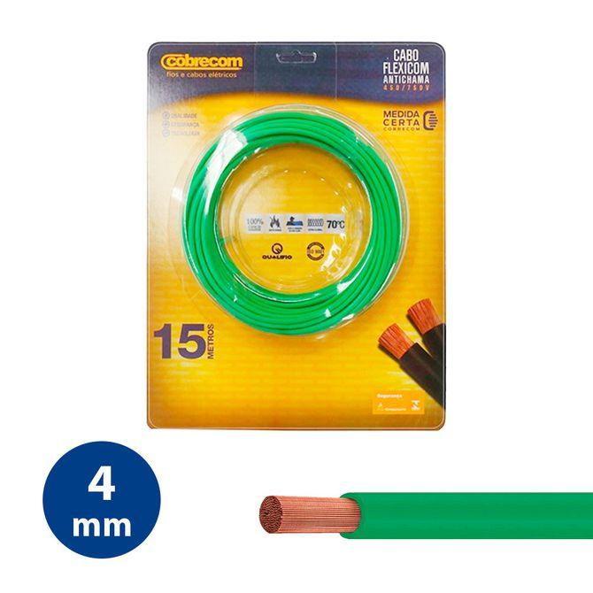 Cabo-Flexivel-4mm-Verde---Rolo-15m---Cobrecom