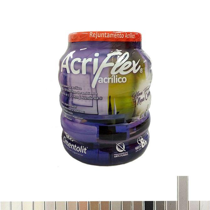 Rejunte-Acrilico-Acriflex-Cinza---Pote-com-2Kg---Cimentolit