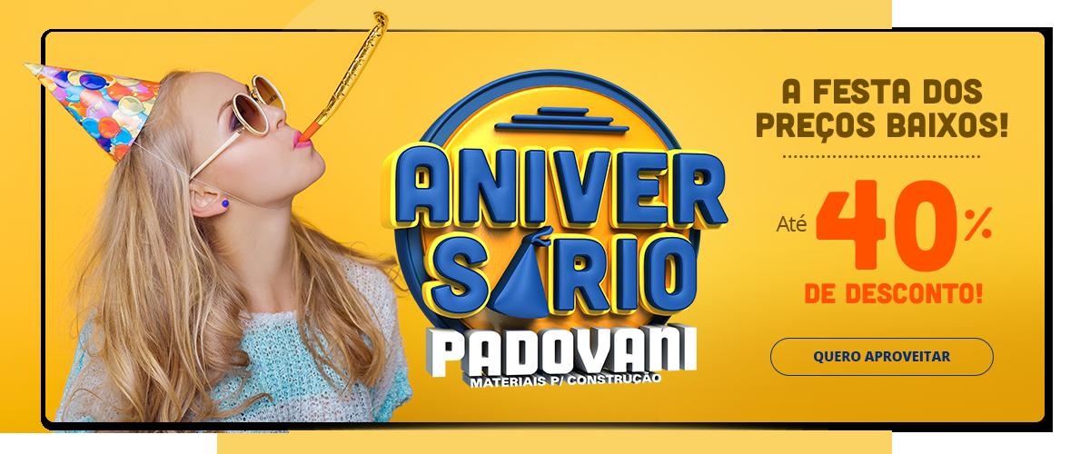 Aniversario Padovani - Capa