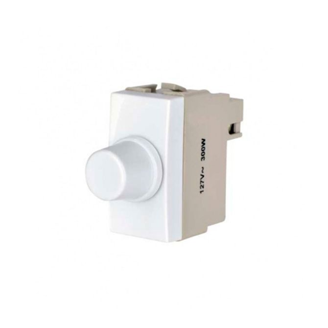 Modulo-Variador-de-Luminosidade-e-Velocidade-220V-Linha-Sleek-Branco---Ref-15811---Margirius