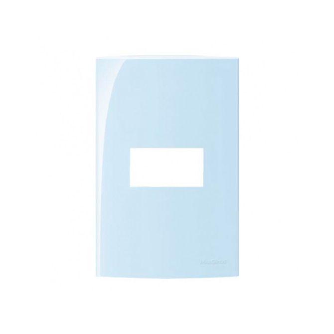 Placa-4x2-com-1-posto-Linha-Sleek-Sereno---Ref-15763---Margirius