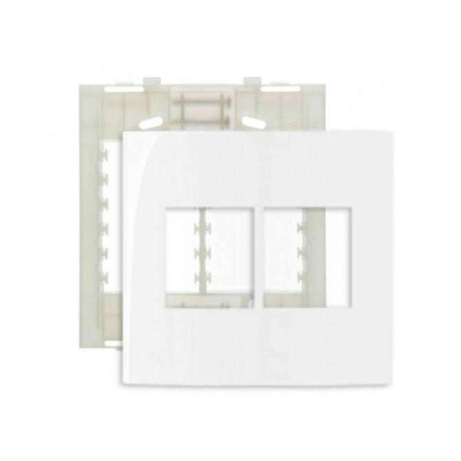 Placa-4x4-com-4-Postos-Juntos---Suporte-Linha-Sleek-Branco---Ref-16020---Margirius