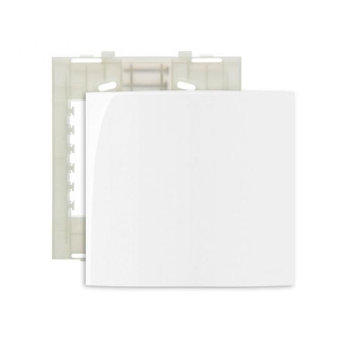 Placa-4x4-Cega---Suporte-Linha-Sleek-Branco---Ref-16022---Margirius