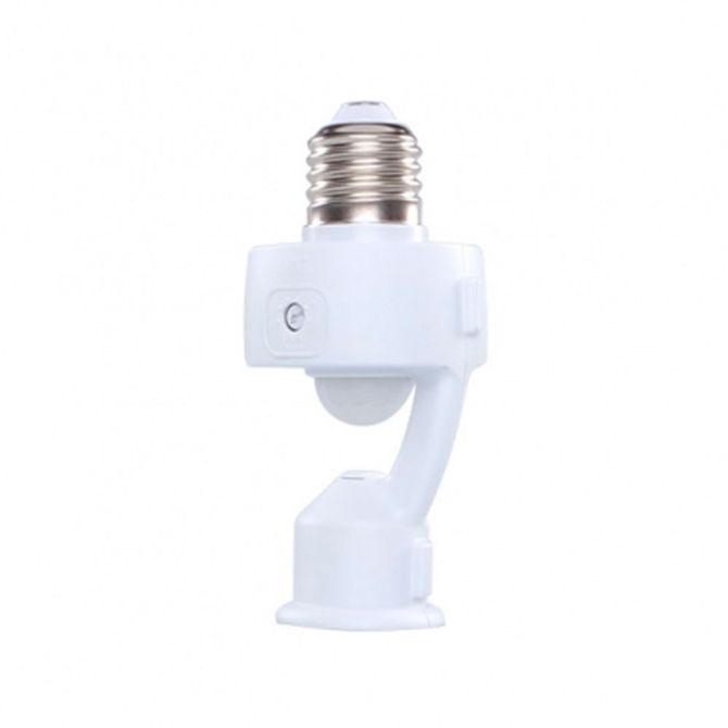 Sensor-de-Presenca-Ajustavel-com-Soquete-E27-Branco-MPQ40D---Ref17085---Margirius