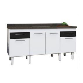 Gabinete-para-Cozinha-em-MDF-2m-Preto---Gaivota---Cozimax