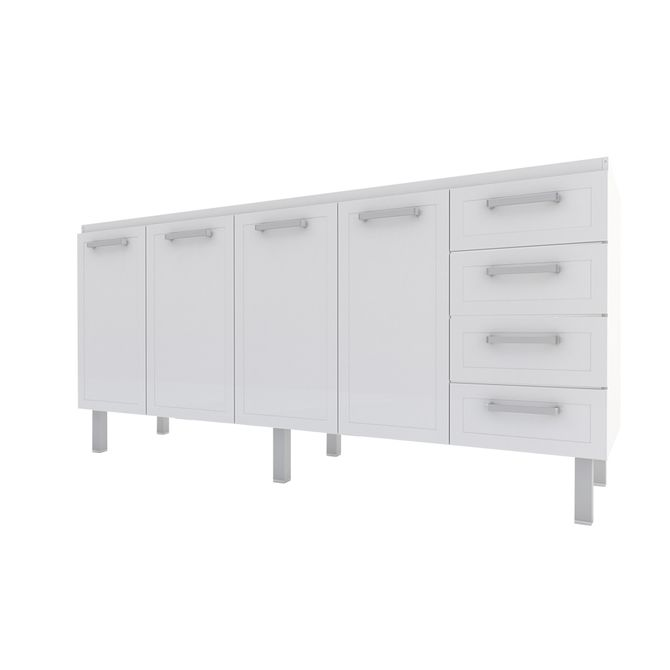 Gabinete-para-Cozinha-em-Aco-2m-Branco---Quality-Flat---Cozimax