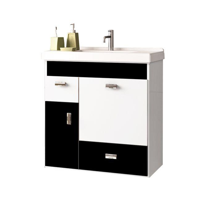 Toucador-para-Banheiro-com-Cuba-60cm-Preto---Orquidea---Cozimax
