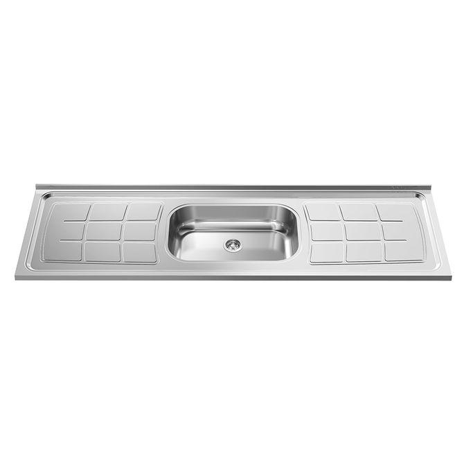 Pia-para-Cozinha-em-Aco-Inox-430-Bali-200x53cm-com-Cuba-41x32cm---GhelPlus1
