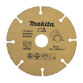 Disco-de-Corte-110x20mm-com-Graos-de-Tungstenio-para-Madeira---B-40668---Makita