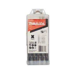 Kit-com-5-Brocas-SDS-Plus---D-61678---Makita