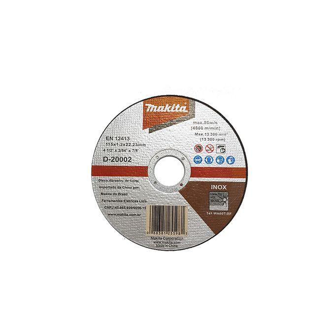 Kit-Disco-de-Corte-Inox-4-1-2-Pol.---D-20002---Makita