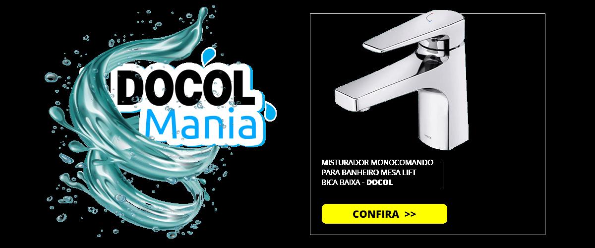 MISTURADOR MONOCOMANDO PARA BANHEIRO MESA LIFT BICA BAIXA