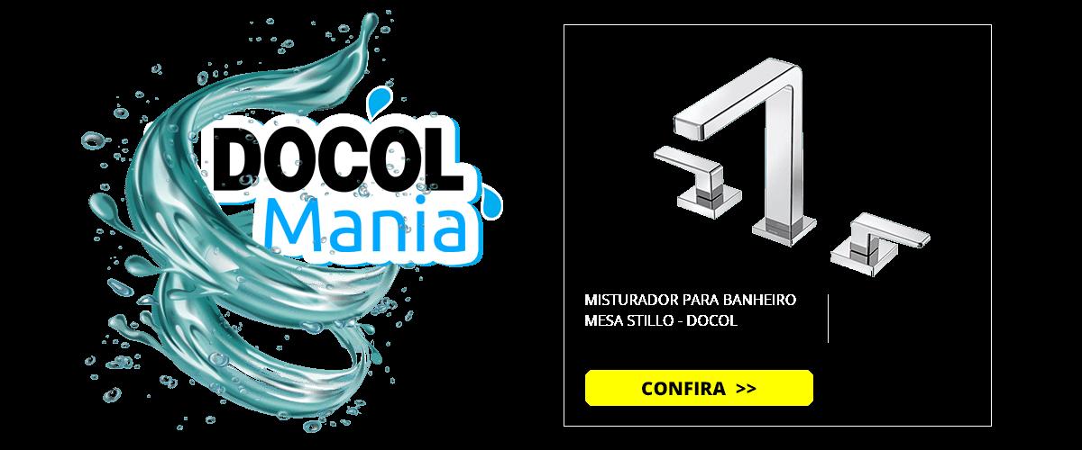 MISTURADOR PARA BANHEIRO MESA STILLO - DOCOL
