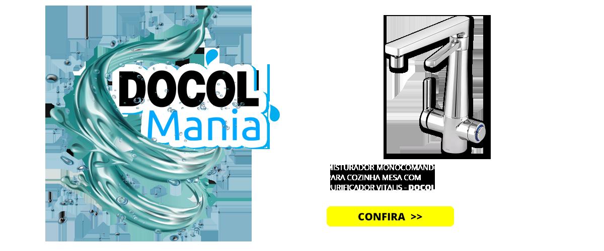 MISTURADOR MONOCOMANDO PARA COZINHA MESA COM PURIFICADOR VITALIS