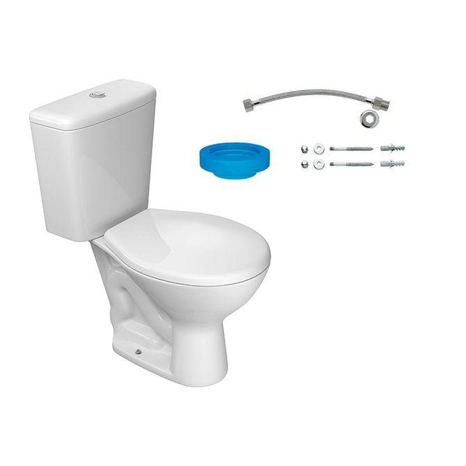 Kit-Bacia-com-Caixa-Acoplada-e-Assento-Izy-Branco---Conjunto-de-Fixacao-Flexivel-e-Anel-de-Vedacao---Deca