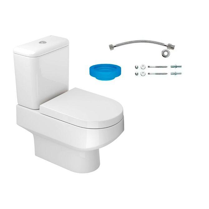 Kit-Bacia-com-Caixa-Acoplada-e-Assento-Carrara-Branco---Conjunto-de-Fixacao-Flexivel-e-Anel-de-Vedacao---KP.606.17---Deca