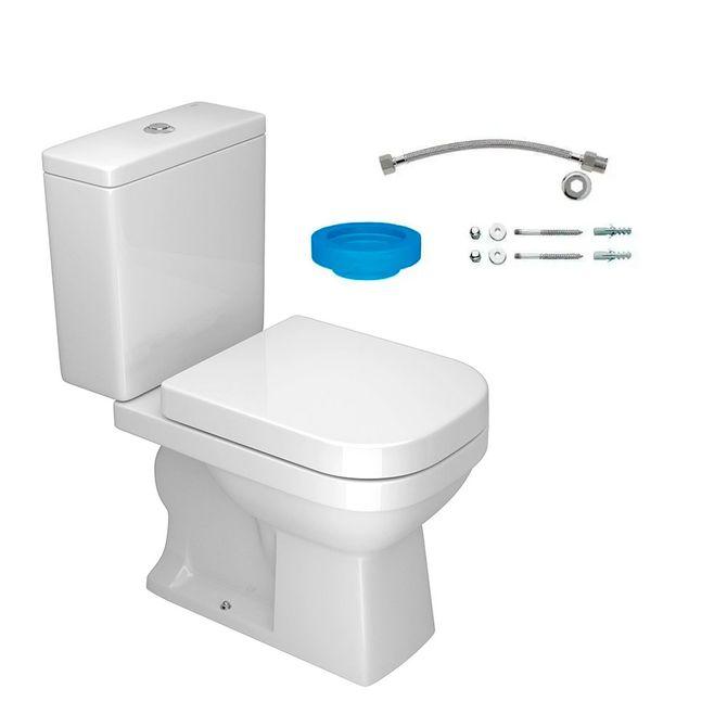 Kit-Bacia-com-Caixa-Acoplada-e-Assento-Quadra-Branco---Conjunto-de-Fixacao-Flexivel-e-Anel-de-Vedacao---KP.210.17---Deca