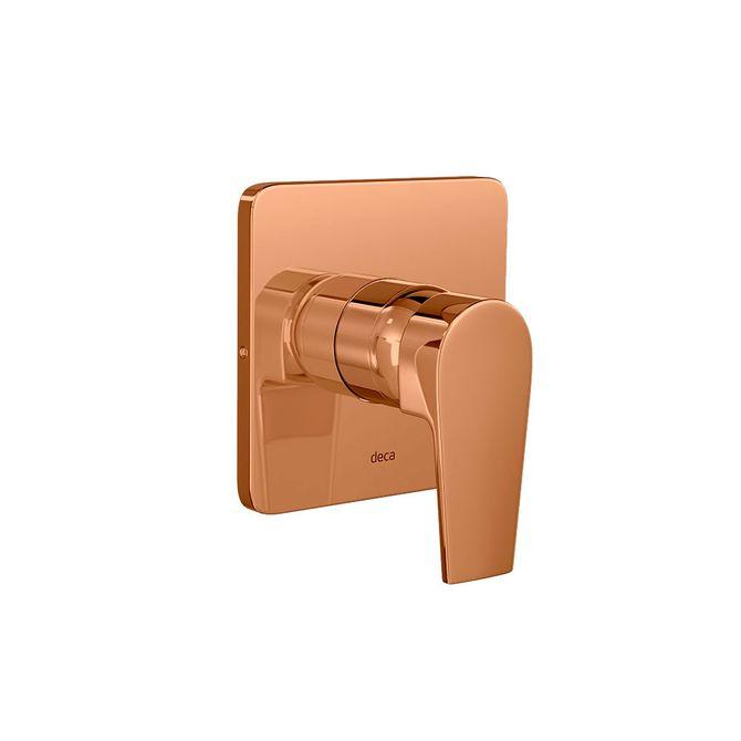 Acabamento-para-Chuveiro-Monocomando-Level-Red-Gold---4993.GL26.CHU.RD---Deca